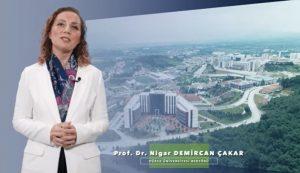 Prof. Dr. Nigar DEMİRCAN ÇAKAR Düzce Üniversitesi Rektörü